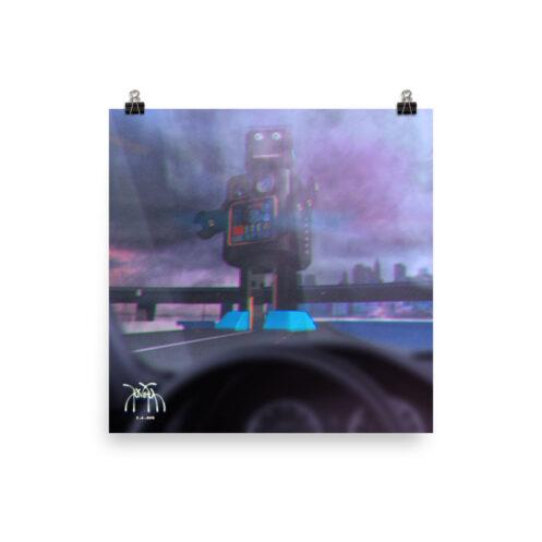 rivera_media_fine_art_high_quality_photo_paper_art_poster_print_surreal_freeway_giant_robot_art_by_david_rivera_riveramedia