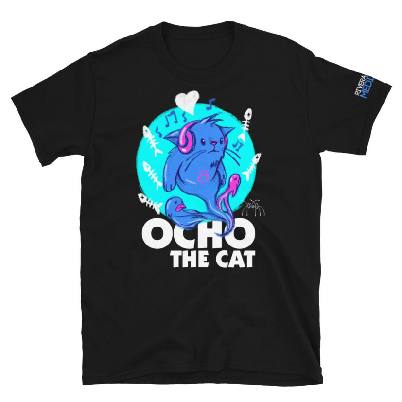 rivera_media_fine_art_high_quality_soft_limited_edition_custom_street_art_tshirt_featuring_art_by_david_rivera_riveramedia_ocho_the_cat